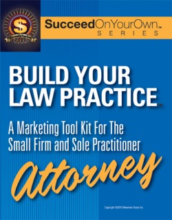 The Marketing Plan For the Sole Proprietor Attorney